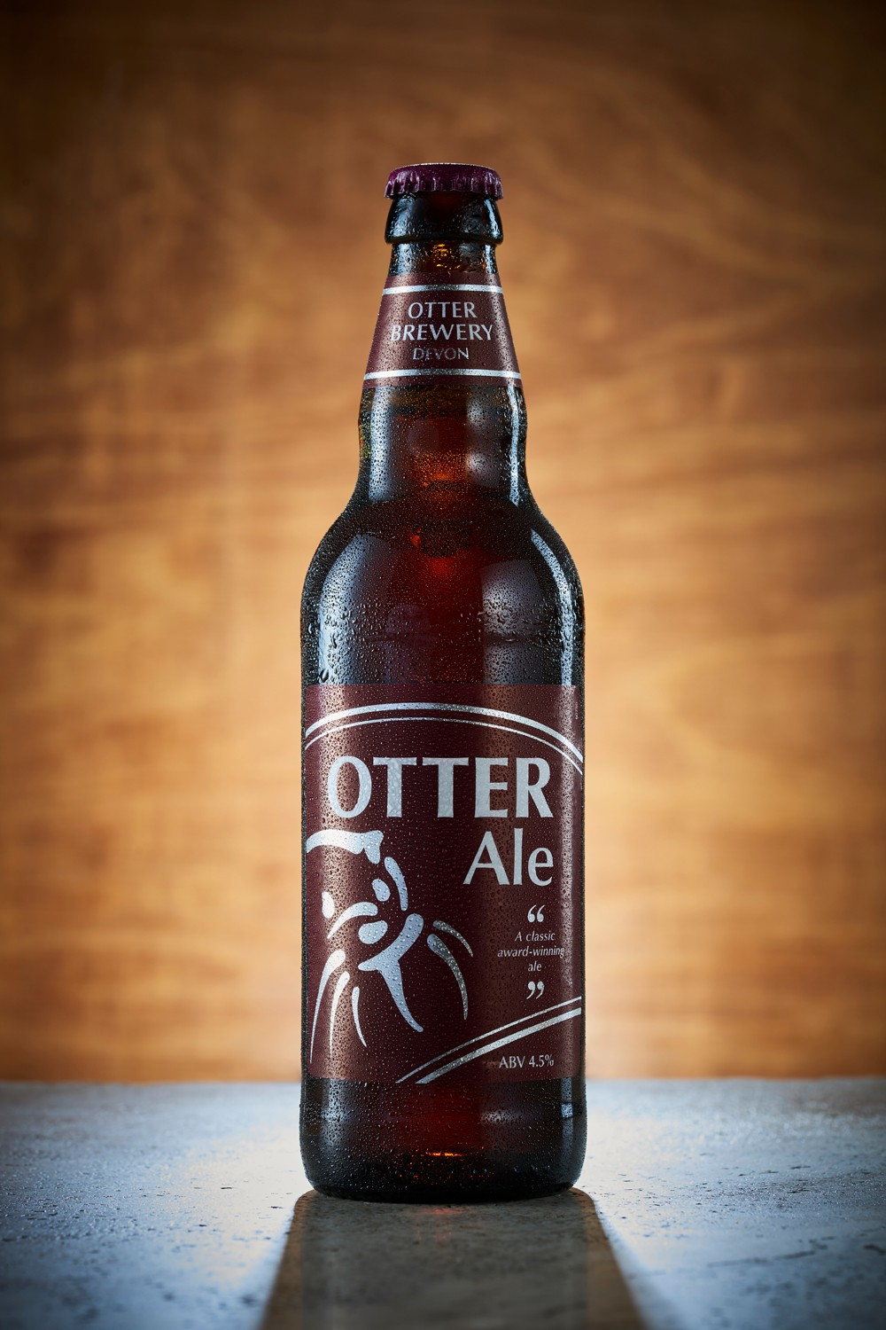 Otter Ale bottled beer