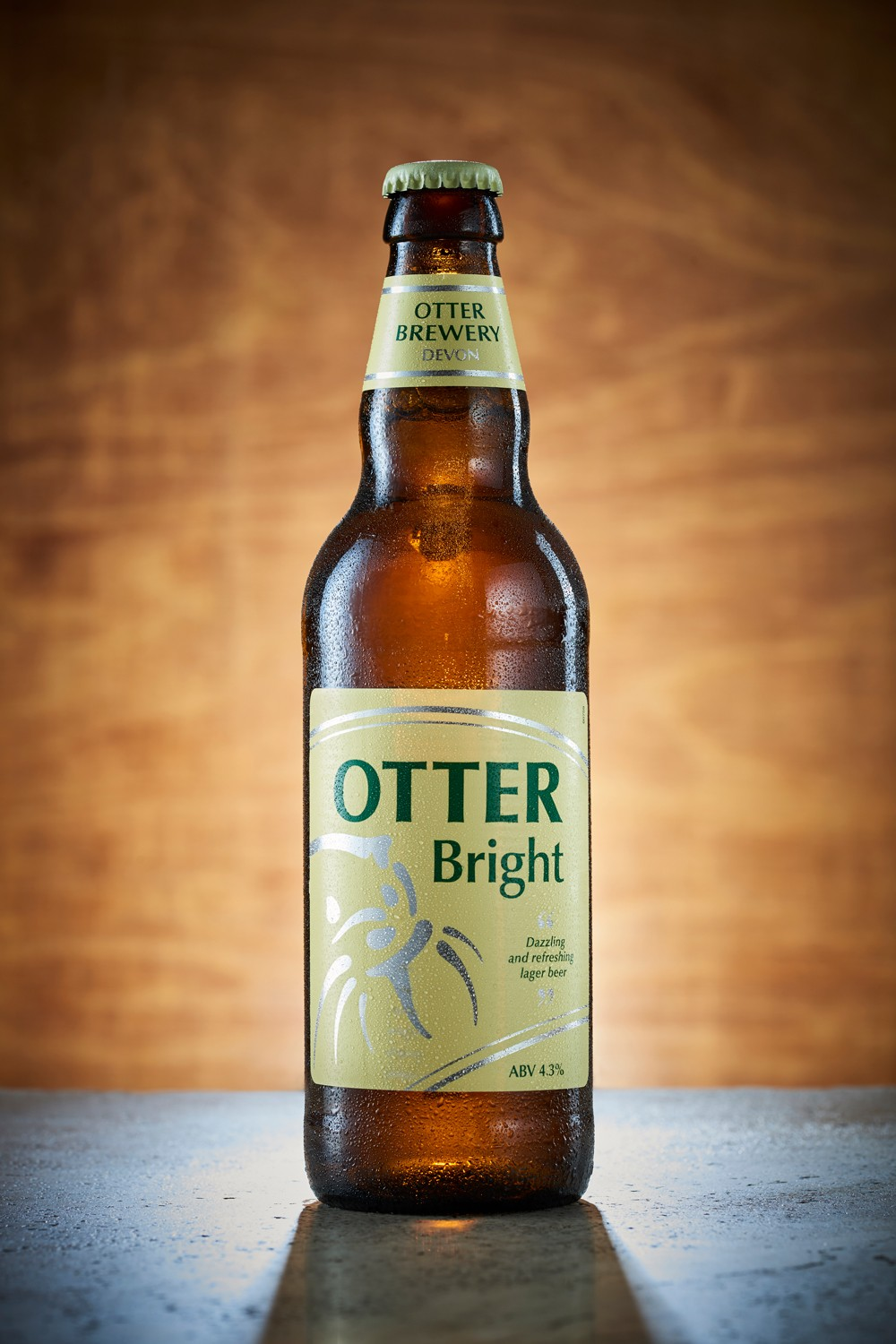 Otter Bright bottled beer
