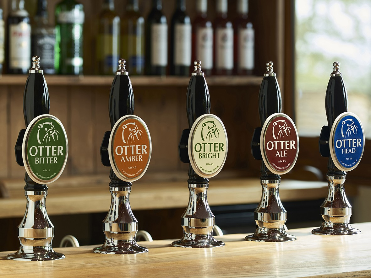 Otter Brewery core beer range