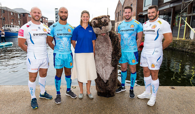 edbaf257b29 Exeter Chiefs Kit Launch - Otter Brewery